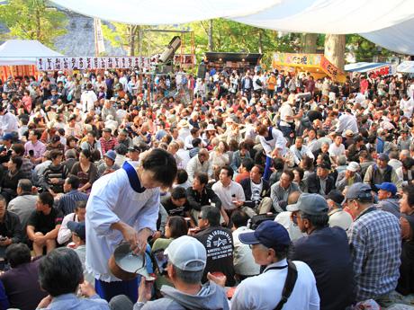 白川郷どぶろく祭り1