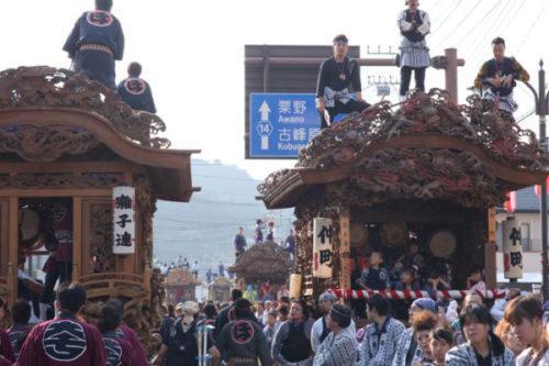 鹿沼秋祭り彫刻屋台