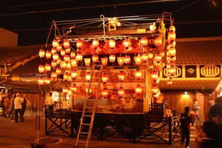 上野天神祭宵々宮