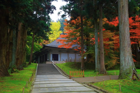 秋の藤原まつり中尊寺金色堂