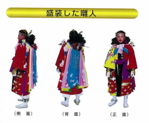 祭頭祭衣装