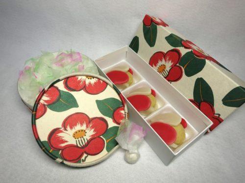 東大寺お水取り椿菓子