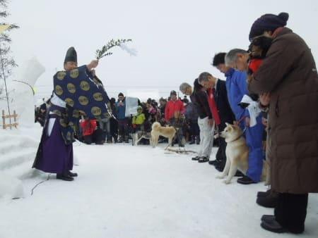 犬っこまつり愛犬祈願祭
