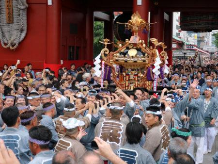 三社祭町内神輿連合渡御