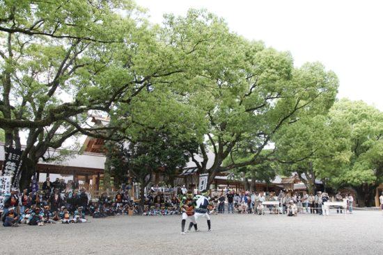 熱田祭り演舞
