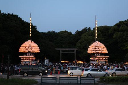 熱田祭り当日