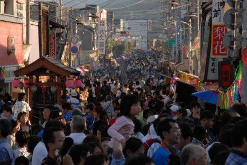 辰野ほたる祭り屋台2