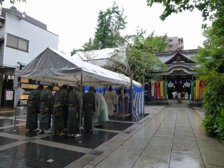 鳥越祭り宵宮清祓式