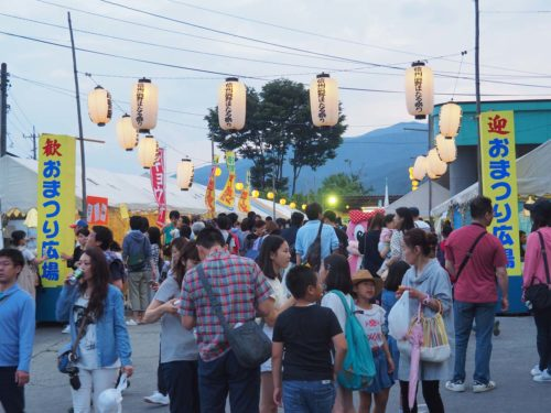 辰野ほたる祭り屋台1