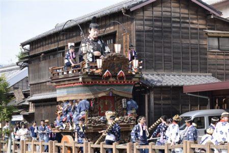 佐原の大祭夏祭り乱曳き