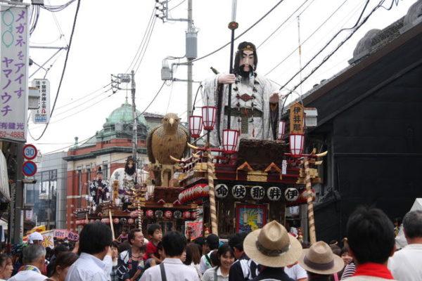 佐原の大祭夏祭り1