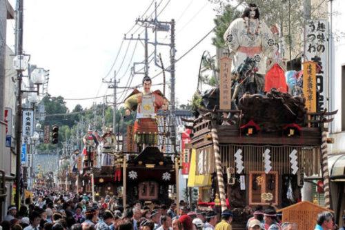 佐原の大祭夏祭り大人形