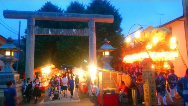 佐原の大祭夏祭り屋台1