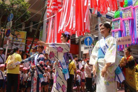平塚七夕祭り千人パレード