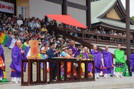 成田祇園祭安全祈願