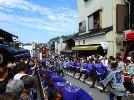 成田祇園祭総引き