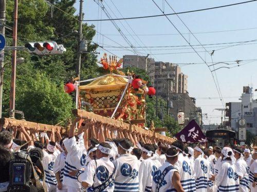 住吉祭り神輿渡御2