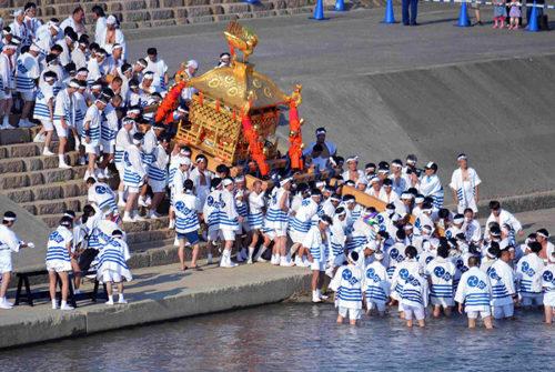住吉祭り神輿渡御1