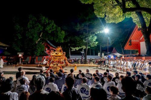 住吉祭り宵宮祭