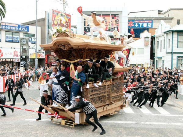 岸和田だんじり祭り1