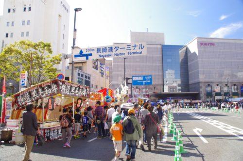 長崎くんち屋台1