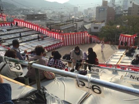 長崎くんち桟敷席