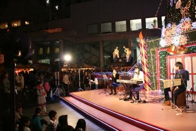 ドイツクリスマスマーケット大阪ステージ