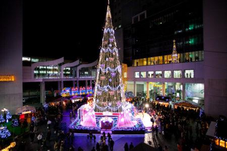 ドイツクリスマスマーケット大阪ツリー