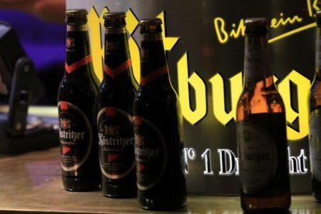 ドイツクリスマスマーケット大阪ビール