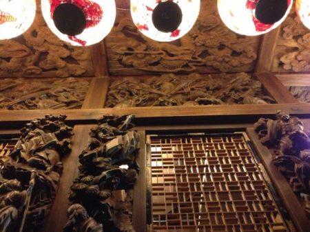 佐原の大祭秋祭り彫刻