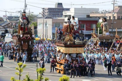 佐原の大祭秋祭り大人形