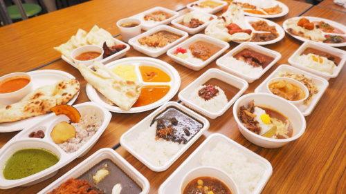 神田カレーグランプリ食べ比べ