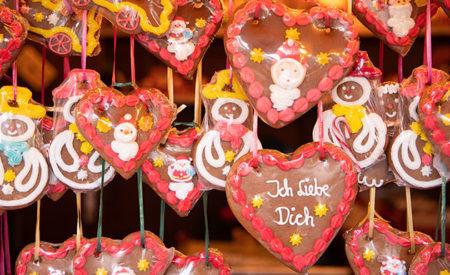 ドイツクリスマスマーケット大阪レープクーヘン