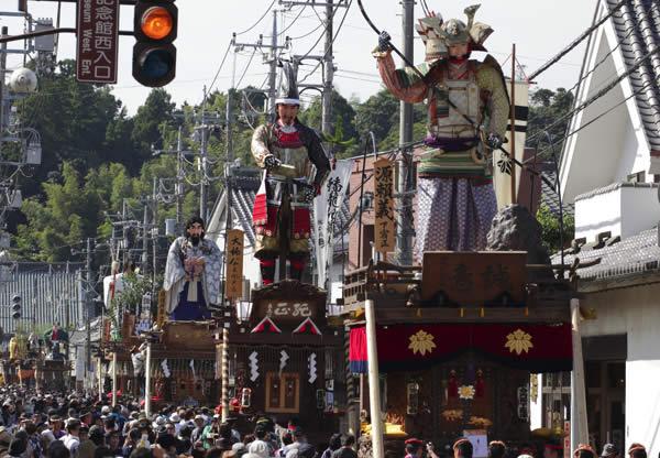 佐原の大祭秋祭り1