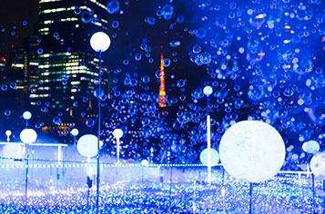 東京ミッドタウンイルミ・スターライトガーデン
