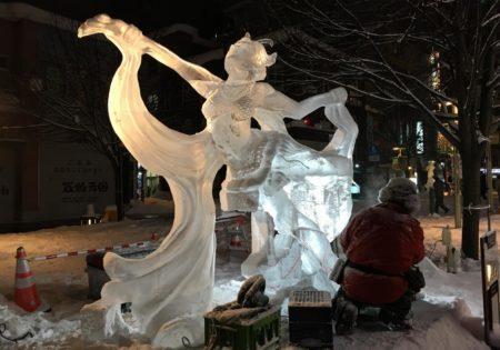 旭川冬まつり氷彫刻