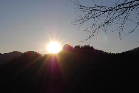 三峯神社初日の出