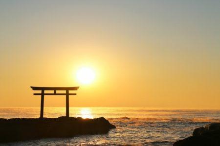 関東初日の出大洗海岸