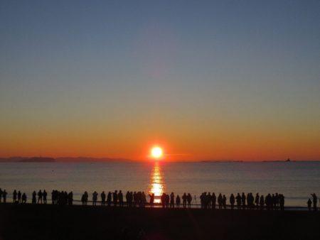 サザンビーチちがさき初日の出