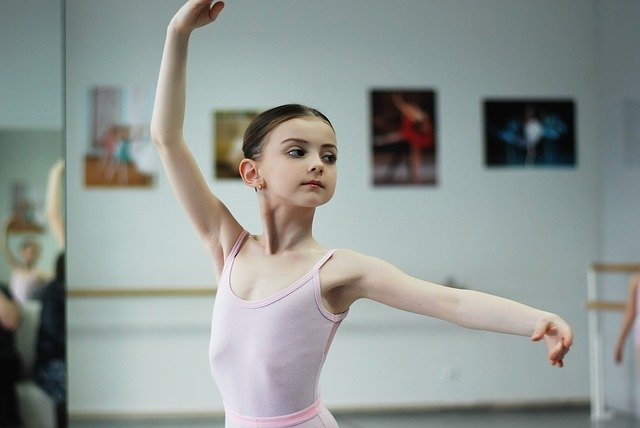 バレエ女の子