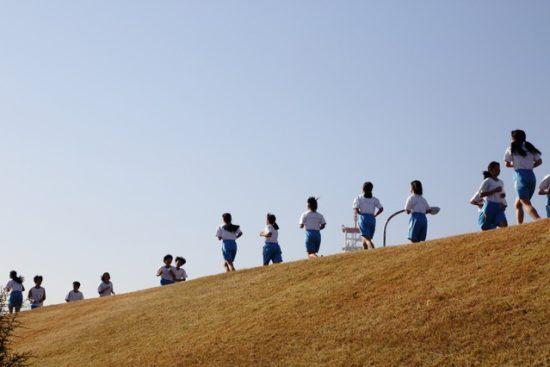 中学生のマラソン