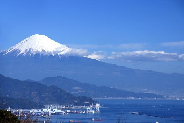 静岡県の富士山