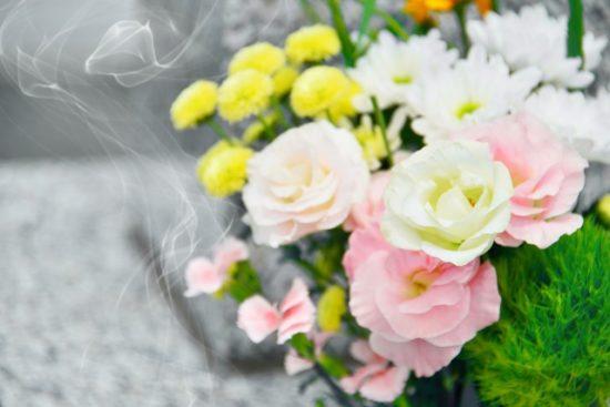 お彼岸お花