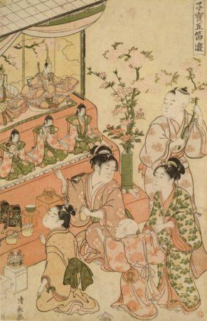 ひな祭り江戸時代