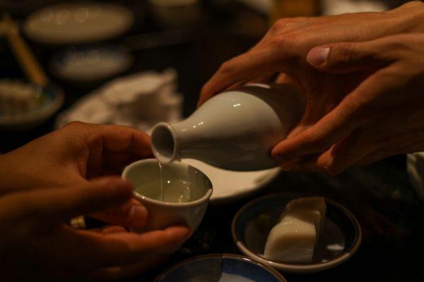 日本酒接待