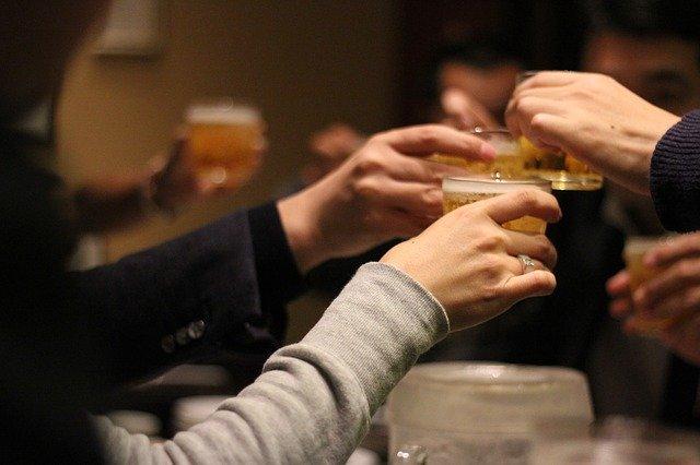 飲み会乾杯1