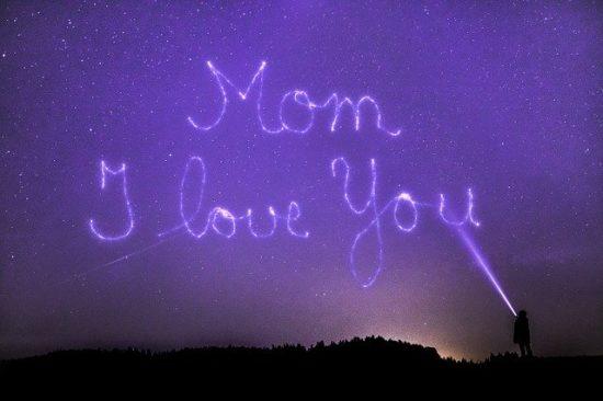 ママ大好きライトアップ