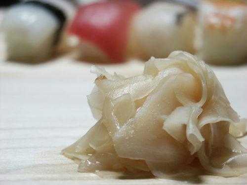 お寿司のガリ
