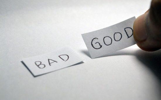 BADとGOODの選択