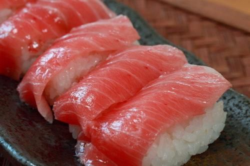 お寿司のマグロ・トロ